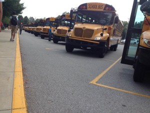 PHM buses waiting to leave Penn