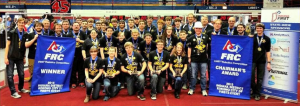 Penn FRC wins Kokomo competition and the Chairman's Award!