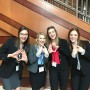 The Fierce Four at the State Competition in Indianapolis. Photo via Kevin McNulty