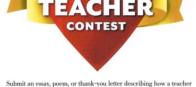 music teacher essay contest The martin luther king, jr state holiday commission joins the ywca wheeling is extending an invitation to all school aged children in wv to participate in the ywca project on racism essay contest.