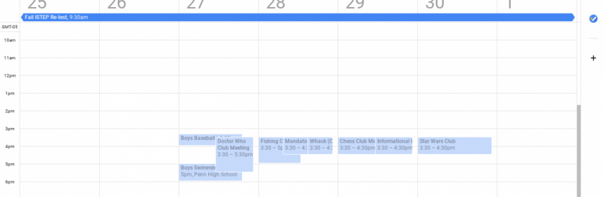 Penn Calendar.Using The Pnn Calendar In 2019 To Get Ahead Penn News Network